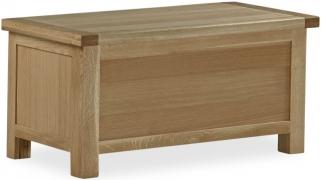 Global Home Cheltenham Oak Storage Box