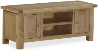 Global Home Cheltenham Oak TV Unit - Large 2 Door