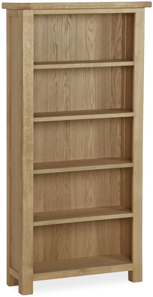 Global Home Cheltenham Oak Bookcase - Large