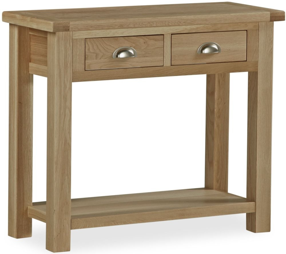 Global Home Cheltenham Oak Console Table