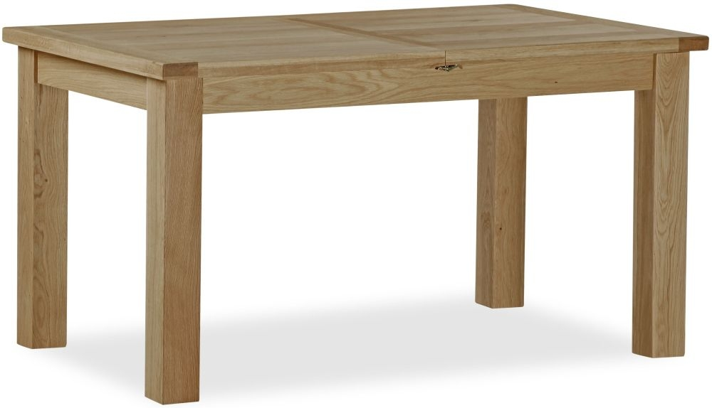 Global Home Cheltenham Oak Dining Table - Compact Butterfly Extending