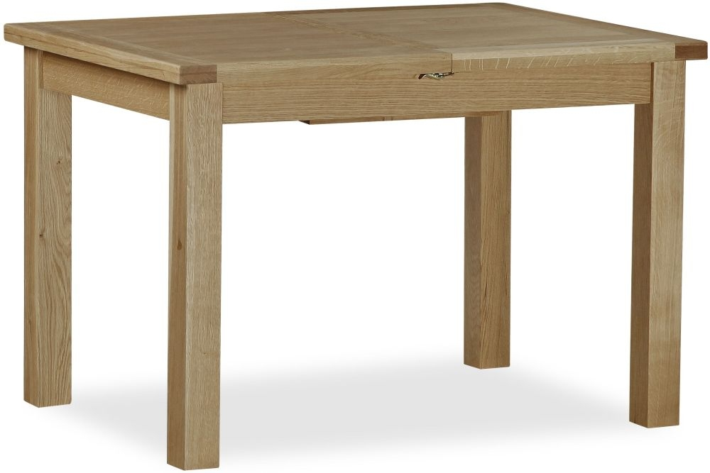 Global Home Cheltenham Oak Dining Table - Small Butterfly Extending