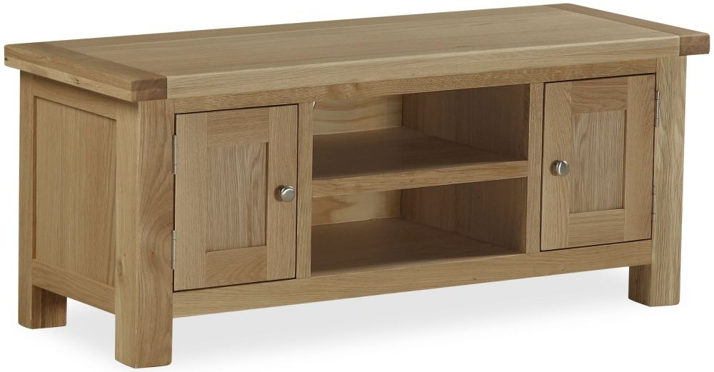Global Home Cheltenham Oak TV Unit - Large