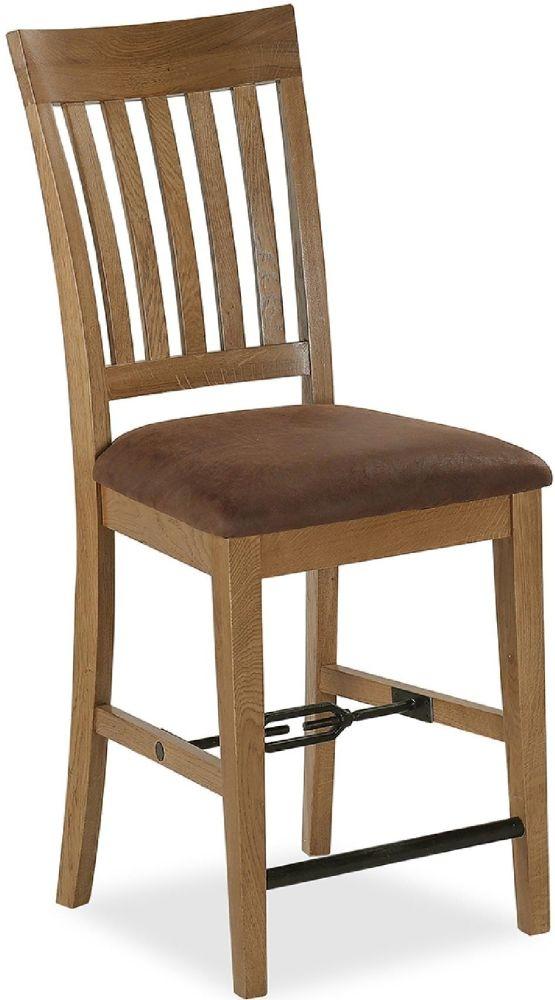 Global Home Chesapeake Oak Bar Chair