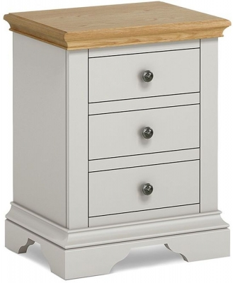 Chester Grey Painted Bedside Cabinet