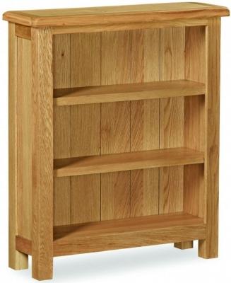 Global Home Cork Lite Oak Low Bookcase