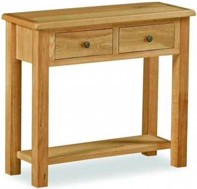 Global Home Cork Lite Oak Console Table