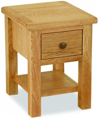 Global Home Cork Lite Oak Lamp Table