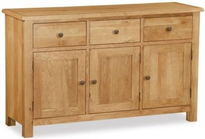 Global Home Cork Lite Oak Large Sideboard