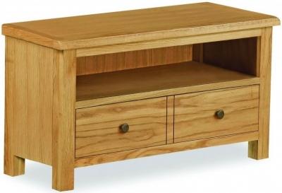 Global Home Cork Lite Oak Small TV Unit
