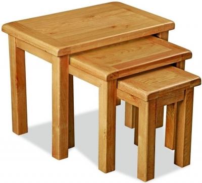 Global Home Cork Oak Nest of Tables