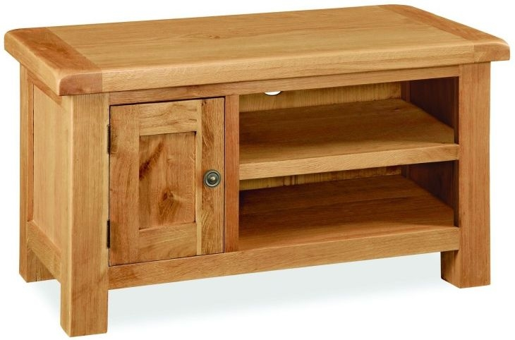 Global Home Cork Oak 1 Door TV Unit
