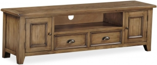 Global Home Cortona Oak TV Unit - Extra Large