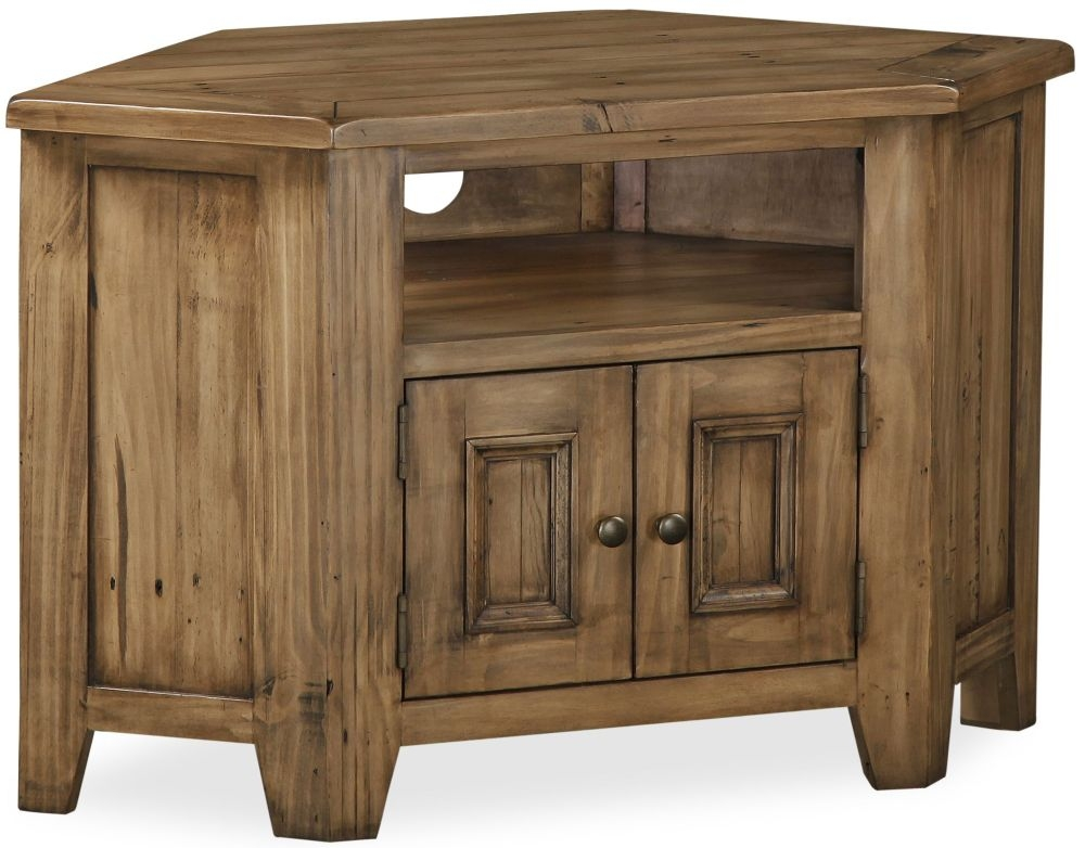Global Home Cortona Oak TV Unit - Corner