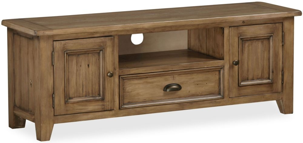 Global Home Cortona Oak TV Unit - Large