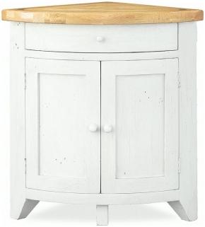 Global Home Cuisine Painted Cupboard - Corner