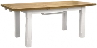Global Home Cuisine Painted Dining Table - Small Extending