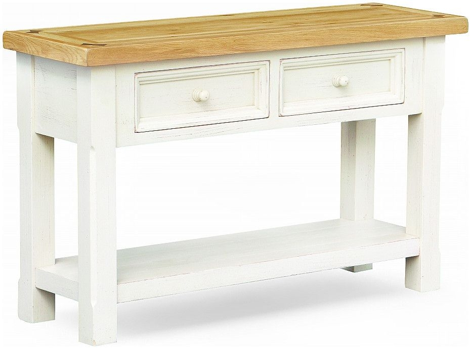 Global Home Cuisine Painted Console Table
