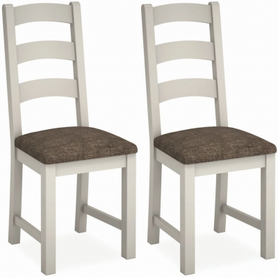 Global Home Devon Soft Cotton Painted Dining Chair (Pair)