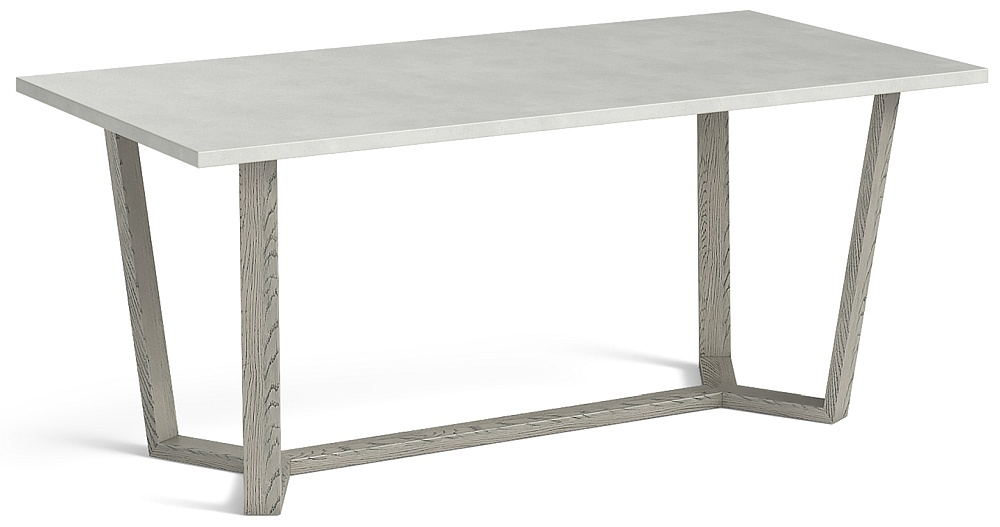 Global Home Docklands Grey Washed 210cm Dining Table