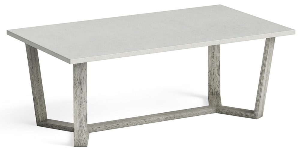 Global Home Docklands Grey Washed Coffee Table