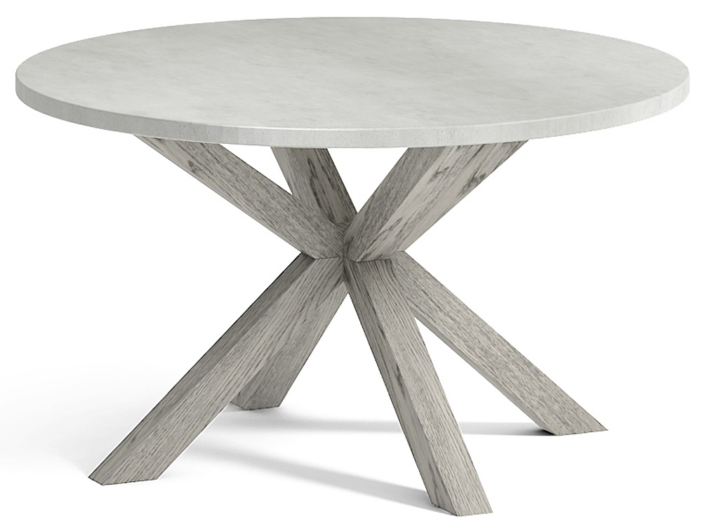Global Home Docklands Grey Washed Round Coffee Table