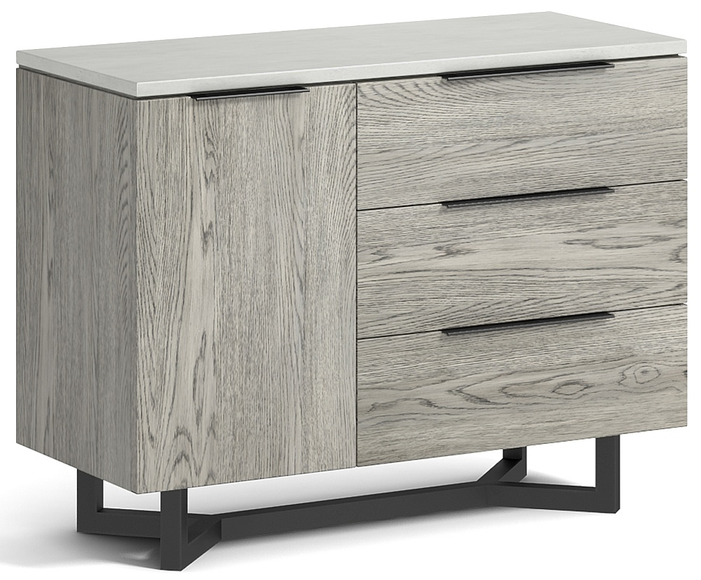 Global Home Docklands Grey Washed Small Sideboard