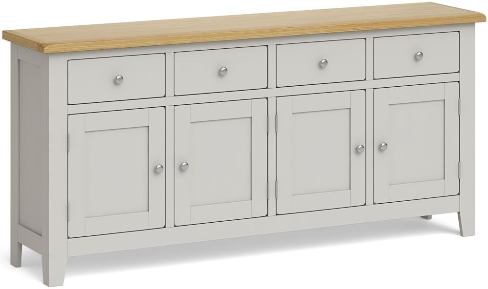 Product photograph showing Global Home Guilford Painted 4 Door Sideboard