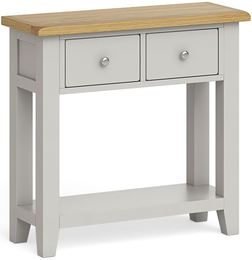 Product photograph showing Global Home Guilford Painted Console Table