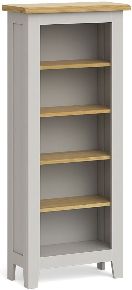 Product photograph showing Global Home Guilford Painted Slim Bookcase