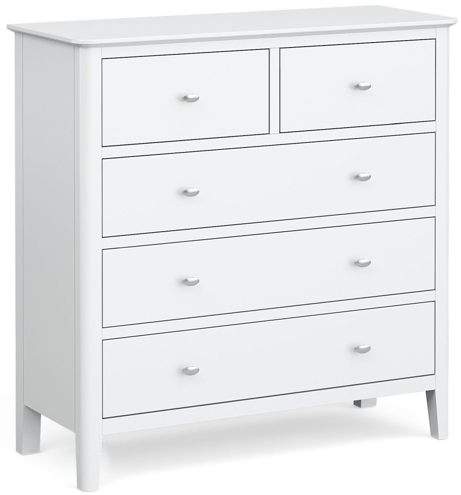 Global Home Hampstead White 2+3 Drawer Chest