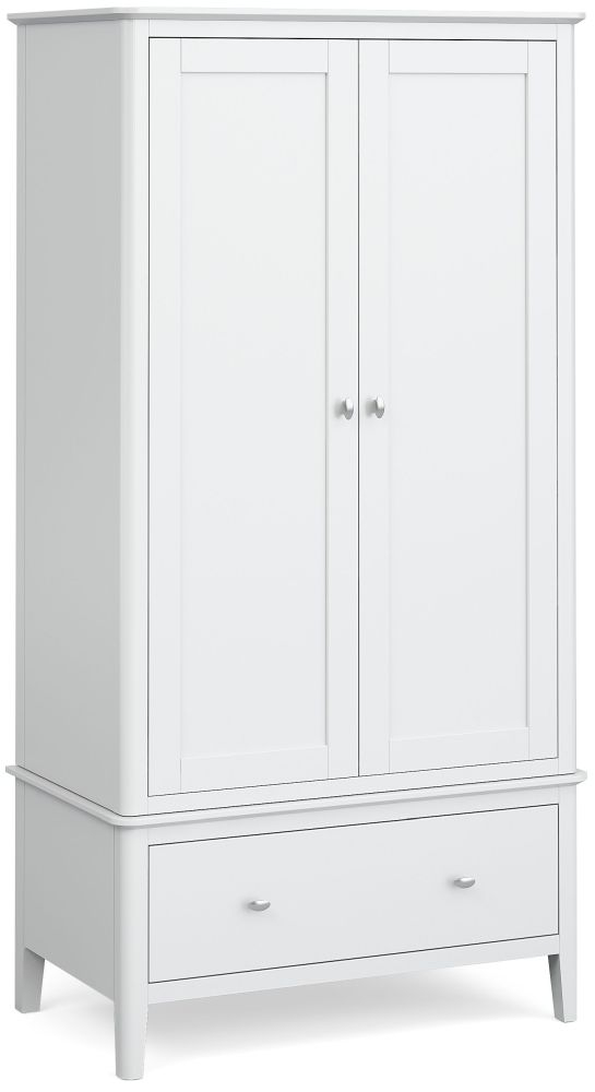 Global Home Hampstead White 2 Door Wardrobe