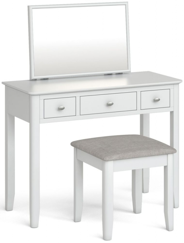 Global Home Hampstead White Dressing Table Set