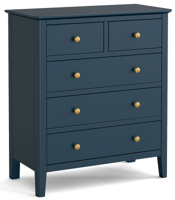 Global Home Harrogate Blue Painted 2+3 Drawer Chest