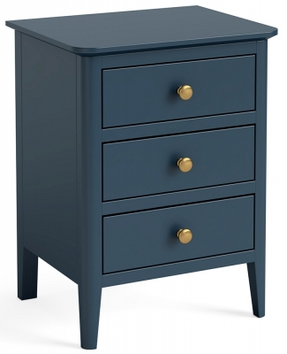 Global Home Harrogate Blue Painted Bedside Cabinet