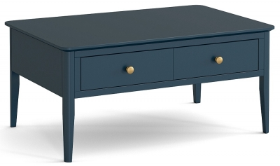Global Home Harrogate Blue Painted Coffee Table