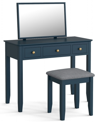 Global Home Harrogate Blue Painted Dressing Table Set