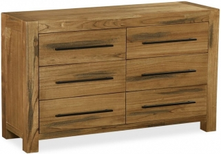 Global Home Houston Chest of Drawer - 6 Drawer