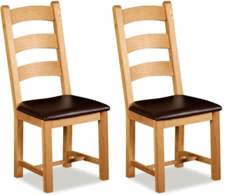 Global Home Imperial Oak Dining Chair (Pair)
