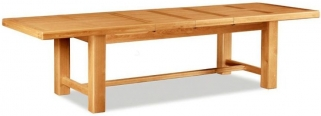 Global Home Imperial Oak Dining Table - Large Extending