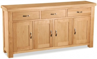 Global Home Imperial Oak Sideboard - Extra Large