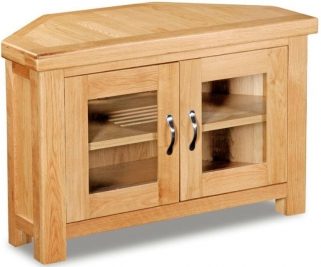Global Home Imperial Oak TV Unit - Corner