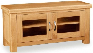 Global Home Imperial Oak TV Unit - Large