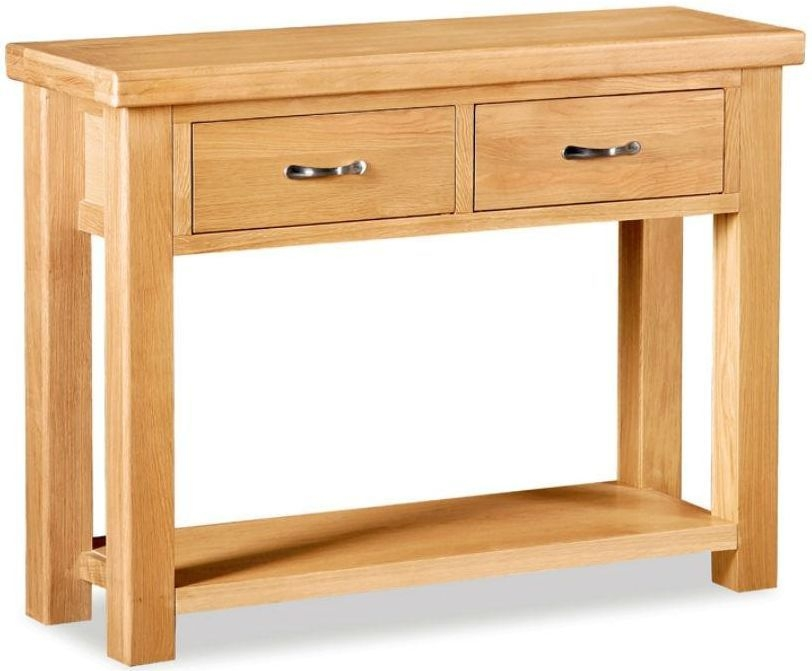 Global Home Imperial Oak Console Table