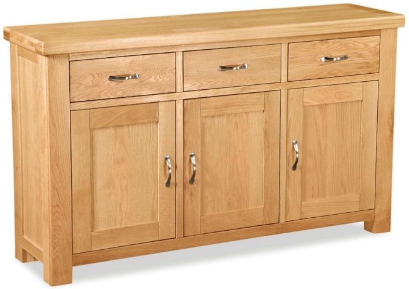 Global Home Imperial Oak Sideboard - Large