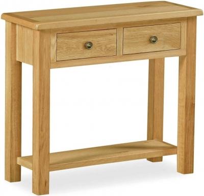 Global Home Lovell Lite Oak Console Table