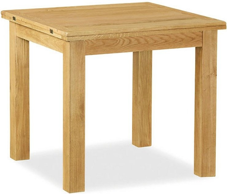Global Home Lovell Lite Oak Flip Top Dining Table