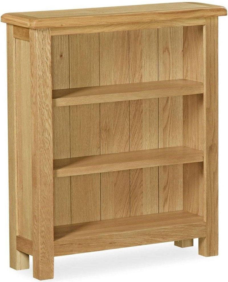 Global Home Lovell Lite Oak Low Bookcase