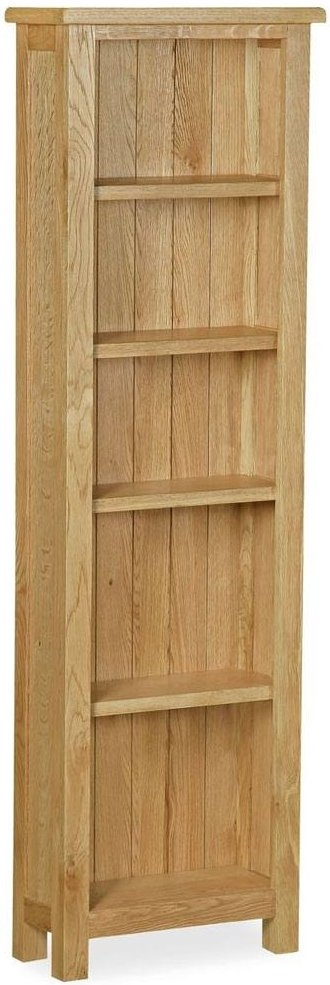 Global Home Lovell Lite Oak Slim Bookcase