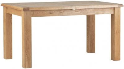Global Home Lovell Oak Extending Dining Table